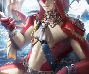 zelda, breath of the wild, and sidon image