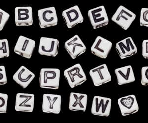ABC, alphabet, and heartcore image