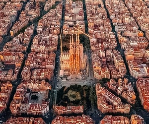 spain, Barcelona, and city image