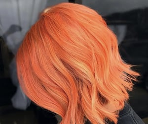 hair and orange hair image