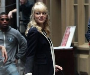 emma stone, gwen stacy, and the amazing spider man image