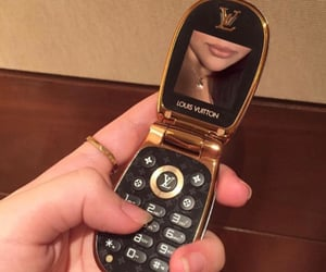 Louis Vuitton, phone, and LV image