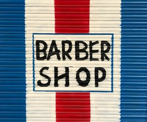 barber, signs, and striped image