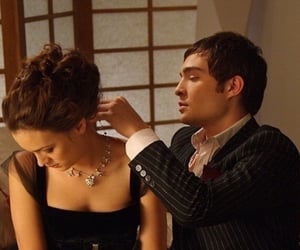 actress, chuck bass, and ed westwick image