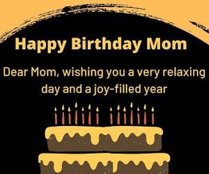 happy birthday, happy birthday images, and happy birthday mom image