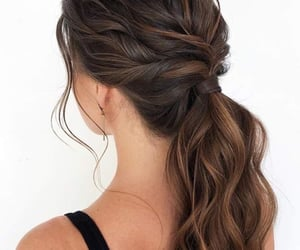 beautiful, hair, and hairstyles image