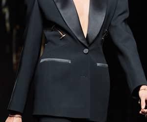 anja rubik, Donatella Versace, and rtw image