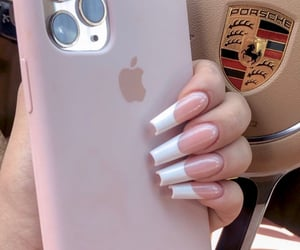 iphone, porsche, and nails image