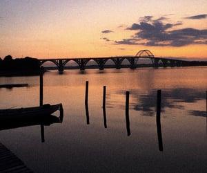 background, travel, and bridge image