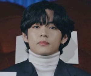 v, jungkook, and tae image