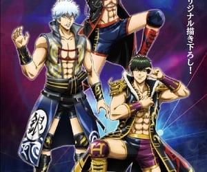 anime, gintoki, and hijikata image