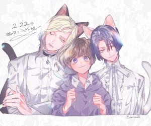 anime, group, and boy image