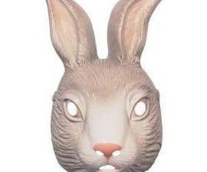 alice in wonderland, mask, and rabbit mask image