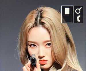 gun, kpop, and lq image