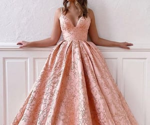dress, evening dress, and prom dresses image