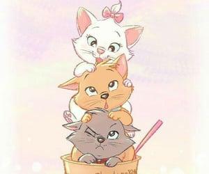 disney, cat, and wallpaper image