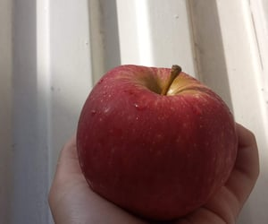 apple, juicy, and manzana image
