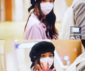 airport, gf, and blackpink image