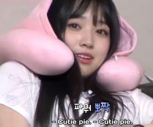 cutie pie, izone, and eyes on me image