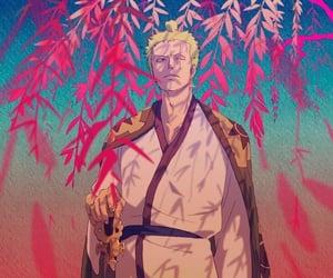 anime, roronoa zoro, and one piece image