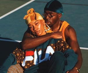 fashion, Relationship, and black love image