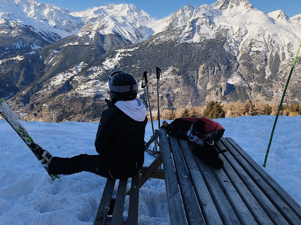 beauty, Skiing, and cold image