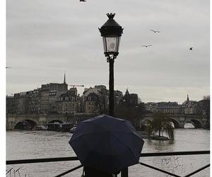 aesthetic, landscape, and rain image