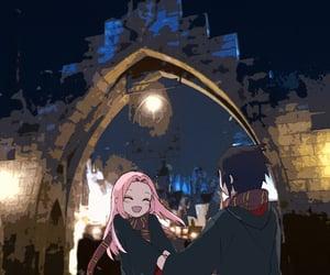 background, naruto, and sasuke uchiha image