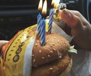 aesthetic, birthday, and food image