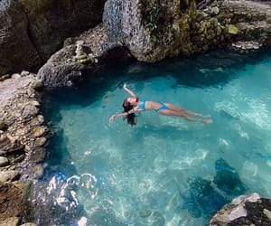 bali, swimsuit, and travel image