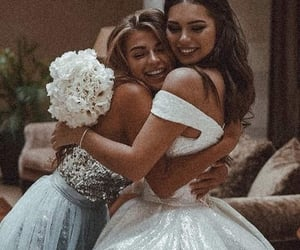 wedding, best friends, and goals image
