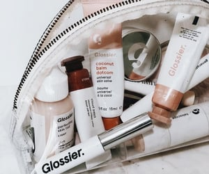 makeup, glossier, and beauty image