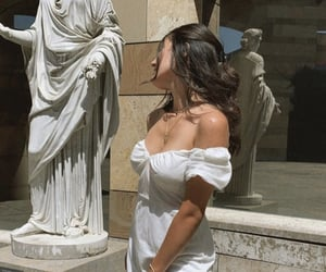 aesthetic, statue, and dress image
