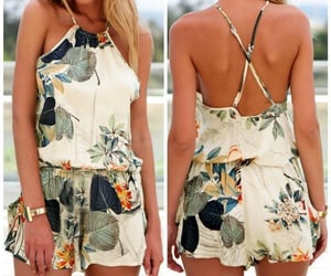 casual, fashion, and romper image