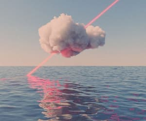 pink, blue, and cloud image