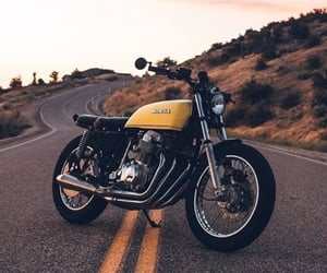 adventure, motorcycle, and mountains image