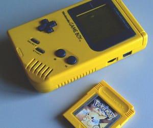 yellow, pokemon, and game image
