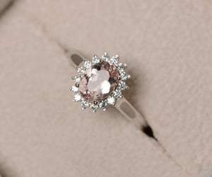 engagement, jewellery, and pink image