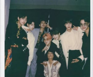jin, halsey, and bts image