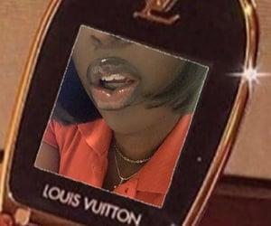 black girl, lip gloss, and vintage image