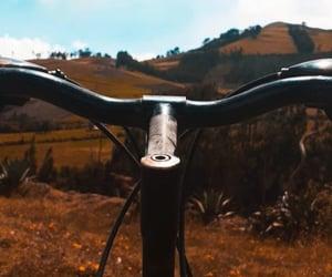 bicicleta, ecuador, and nature image