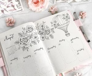 planner and writing image