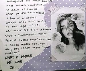 art, journal, and women image