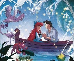 comic, disney, and little mermaid image