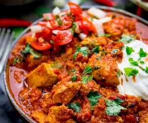 Chicken, curry, and rogan josh image