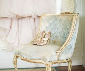aesthetic, feminine, and chair image