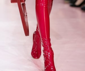 dior, shoes, and red image