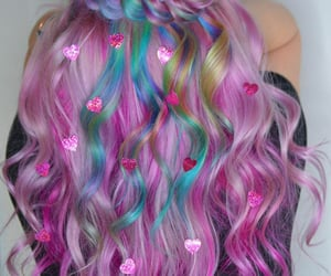 aesthetic, beauty, and braid image