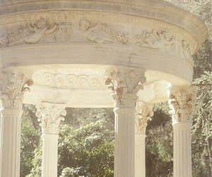 white, vintage, and architecture image