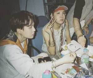 bts, jhope, and min yoongi image